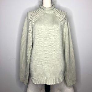 💥 Urban Behavior Tan Roll Neck Sweater in Sz M
